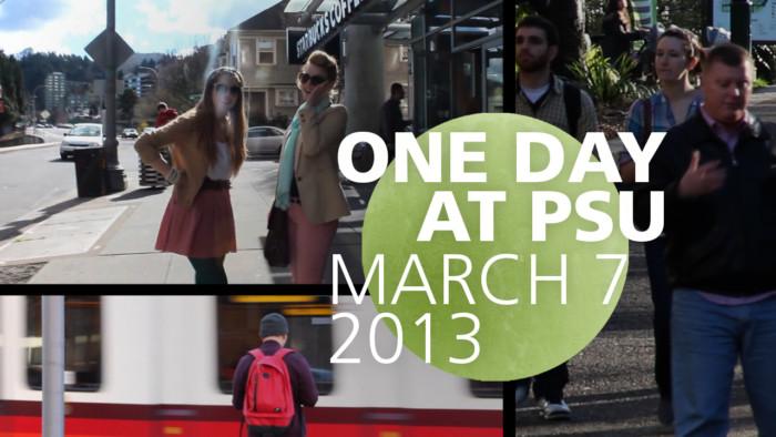 One Day at PSU Thumbnail